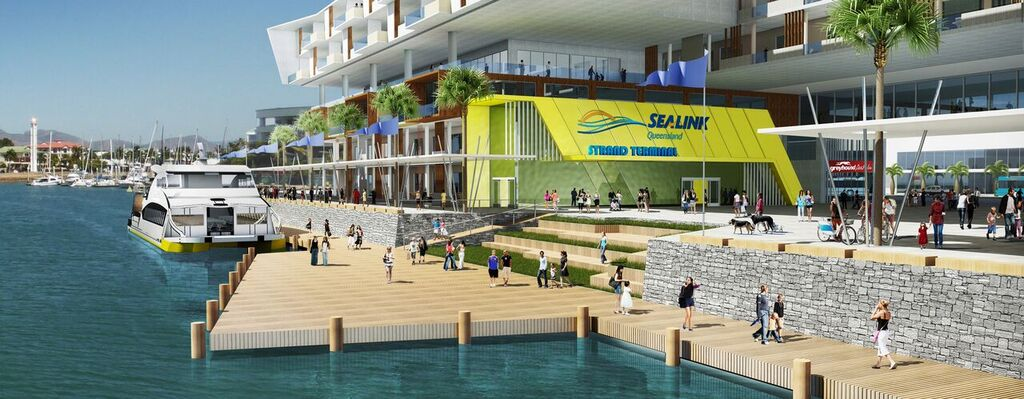 WHAT DOES THE NEW SEALINK TERMINAL MEAN FOR TOWNSVILLE?