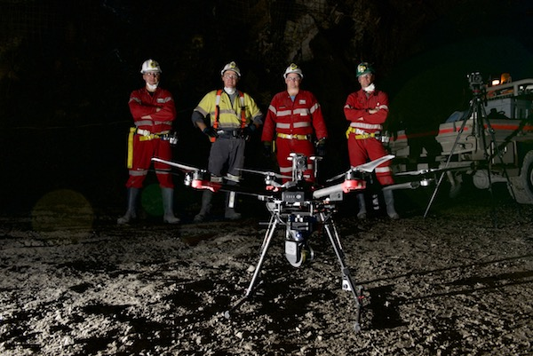 FLYFREELY: WHY THEY FLY DRONES INTO UNDERGROUND MINES